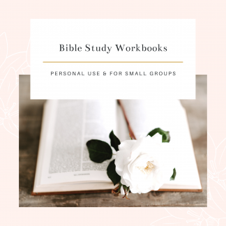 Bible Study Workbooks
